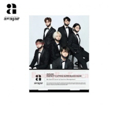 AVAJAR Perfect V Lifting Super Black Mask 1ea [Super Junior Edition],AVAJAR
